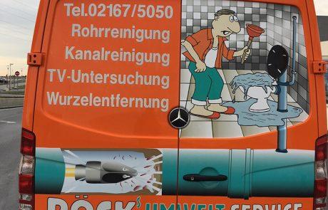 Pöck's Rohrreinigungsfahrzeug