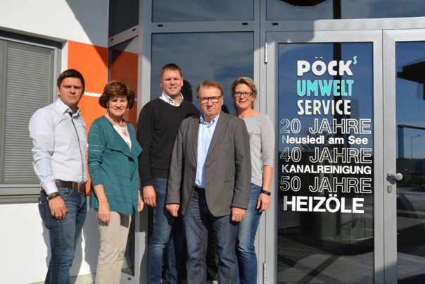 Unternehmerfamilie Pöck